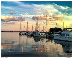 Belleville Harbour at Dusk