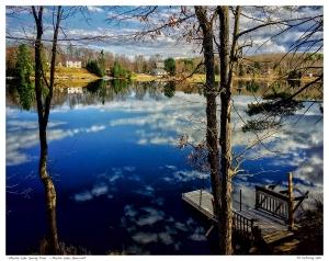 """""""Marble Lake Spring Time"""" - Marble Lake, Bancroft"""