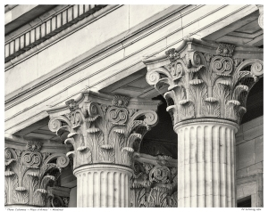 """Three Columns - Place d'Armes"" - Montreal"