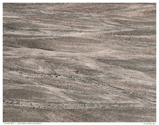 """""""Washed Out"""" - Sand Patterns, Bancroft, Ontario"""