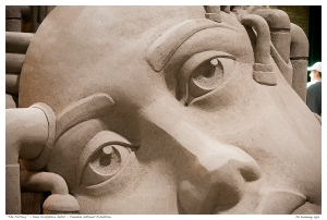 """""""The Factory"""" - Sand Sculpture Detail - Canadian National Ex"""