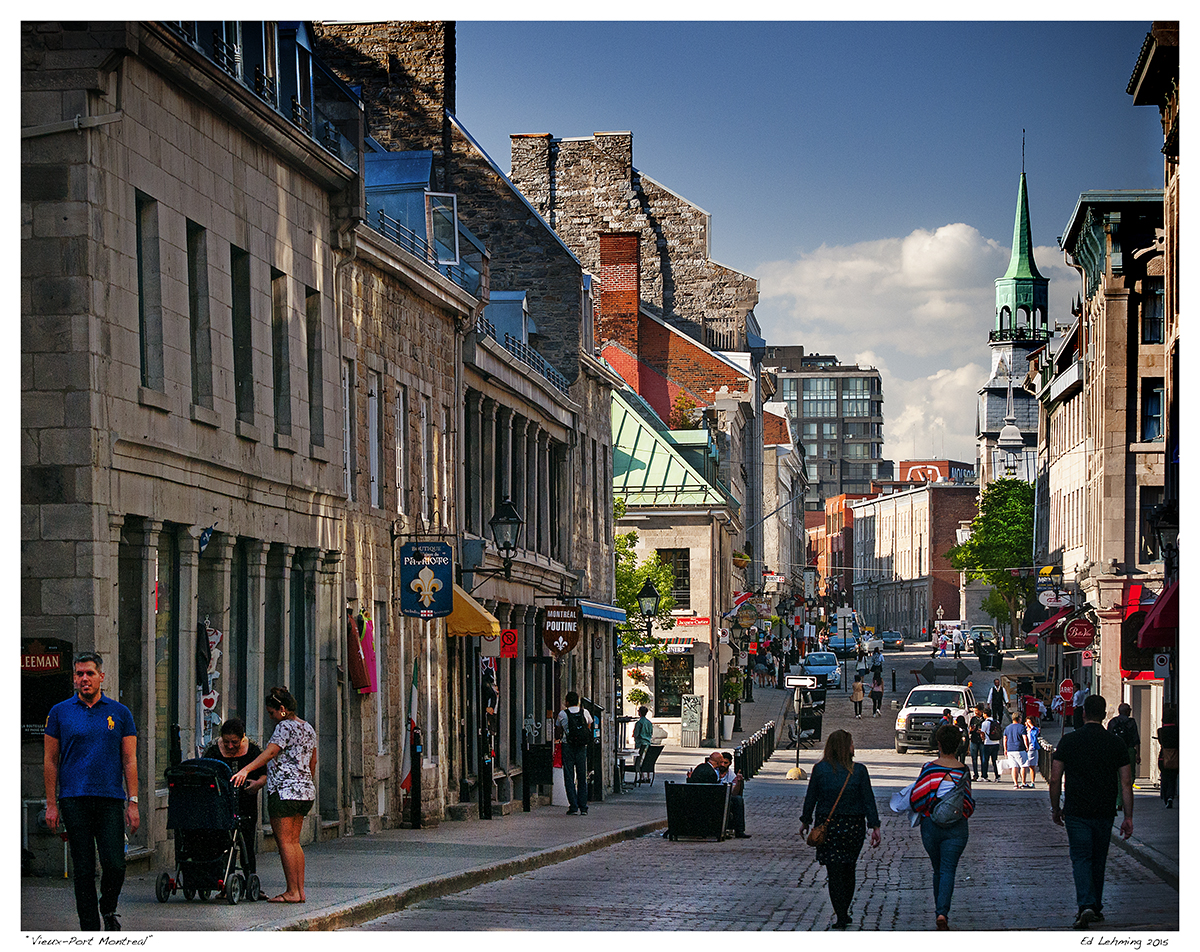 Warm spring day in vieux montreal ed lehming photography - Activite montreal vieux port ...