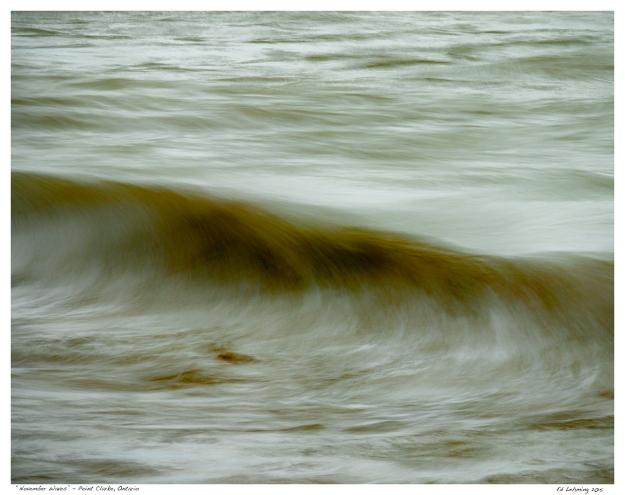 """November Waves"" - Point Clarke, Ontario"