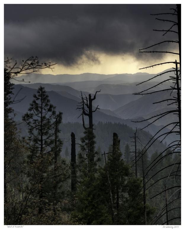 West of Yosemite