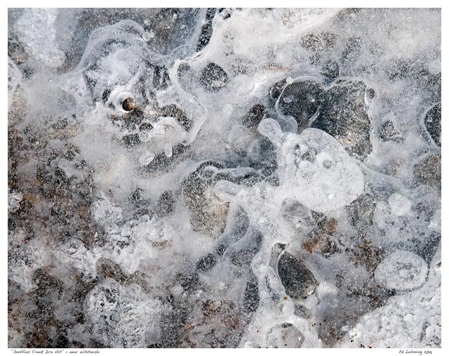 """Duffins Creek Ice Art"" - near Whitevale"