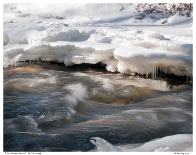 """Past Frozen Shores"" - Duffins Creek"