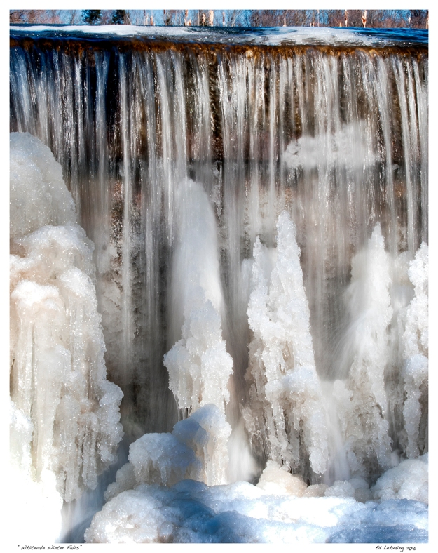"""Whitevale Winter Falls"""