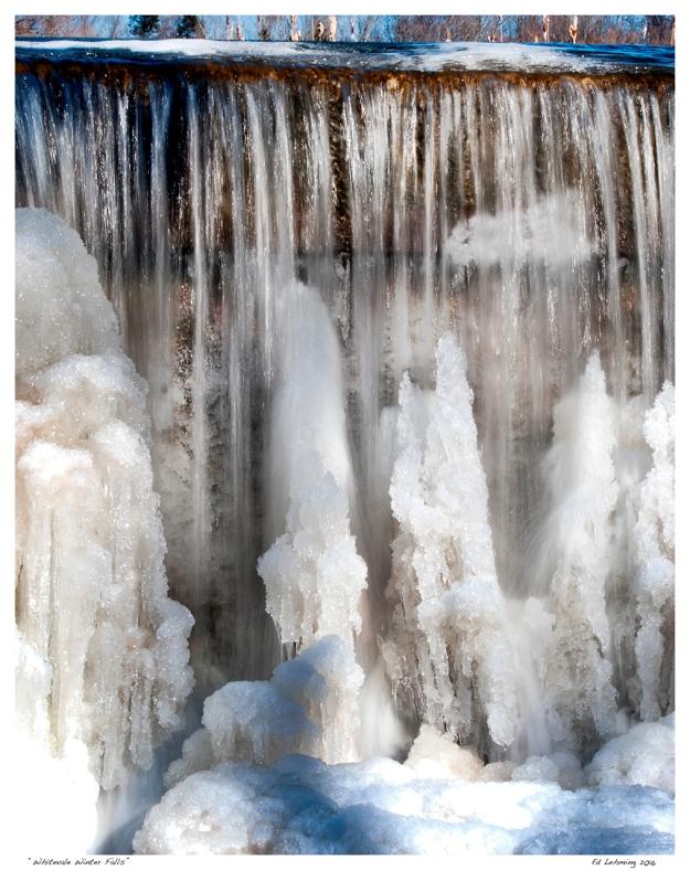 """""""Whitevale Winter Falls"""""""