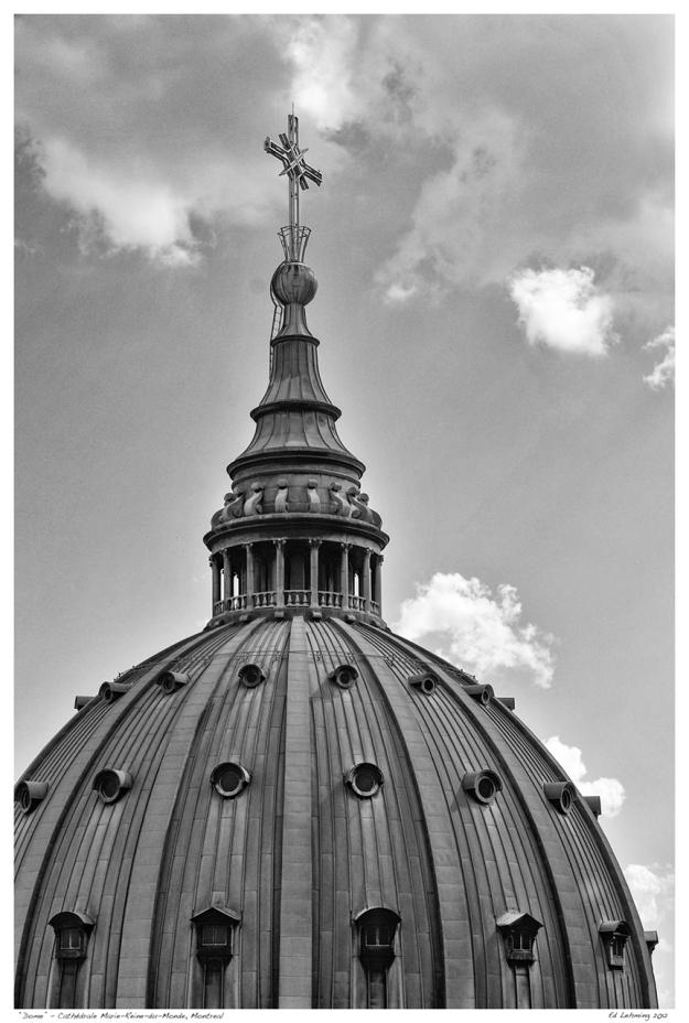 """Dome"" - Cathédrale Marie-Reine-du-Monde, Montreal"