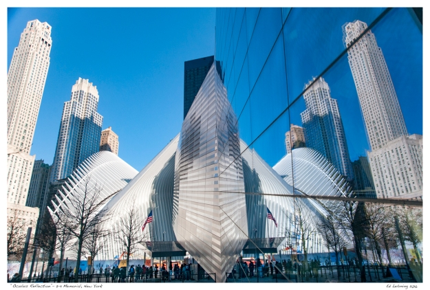 """Oculus Reflection""- 9-11 Memorial, New York"