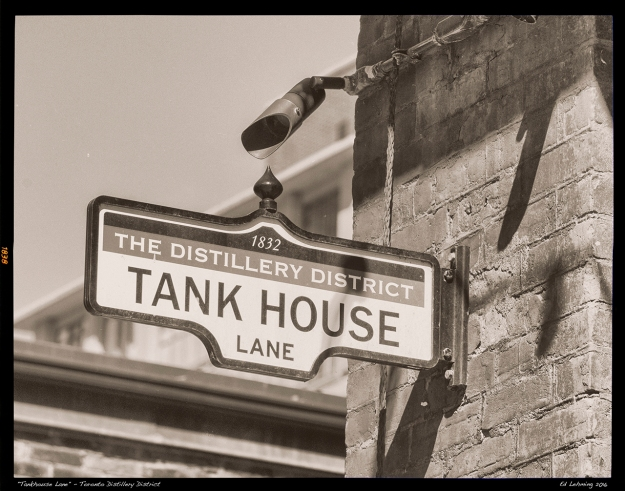 """Tankhouse Lane"" - Toronto Distillery District"