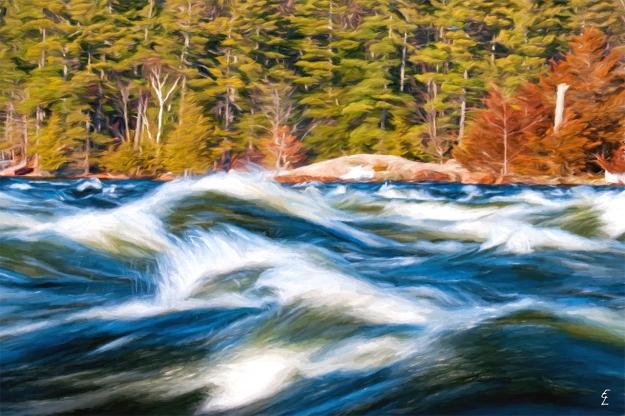 Burleigh Falls Spring Rush
