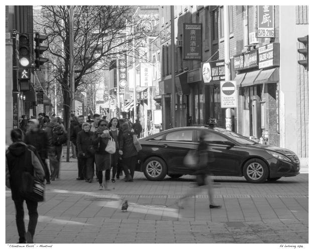 """""""Chinatown Rush"""" - Montreal"""