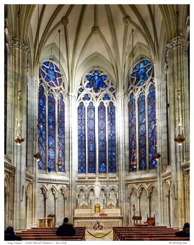 """Lady Chapel"" - Saint Patrick Cathedral - New York"