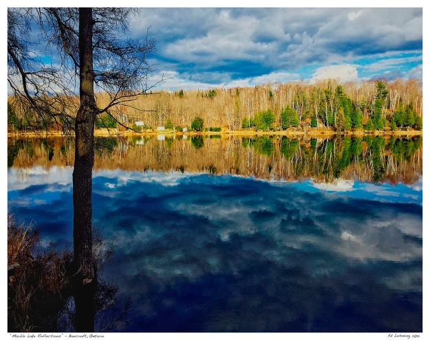"""Marble Lake Reflections"" - Bancroft, Ontario"
