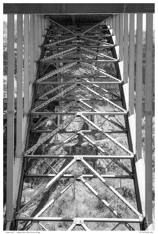 """Underside"" - Queenston-Lewiston Bridge"