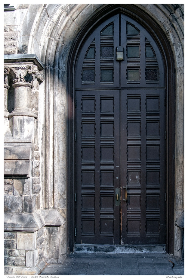"""Morrice Hall Doors"" - McGill University, Montreal.jpg"