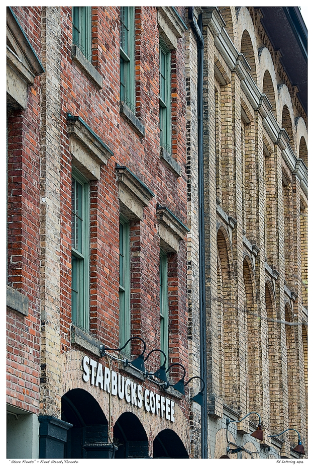 """Store Fronts"" - Front Street, Toronto"