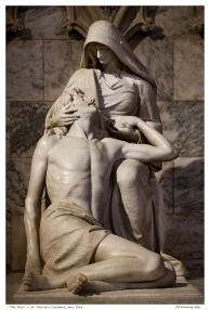 """The Pieta"" - St. Patrick's Cathedral, New York"