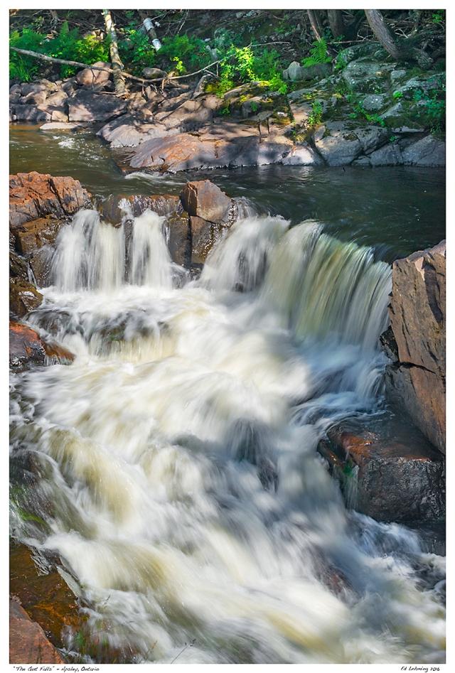 """The Gut Falls"" - Apsley, Ontario"