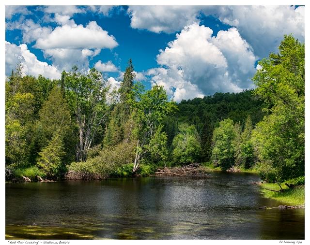 """""""York River Crossing"""" - Slabtown, Ontario"""