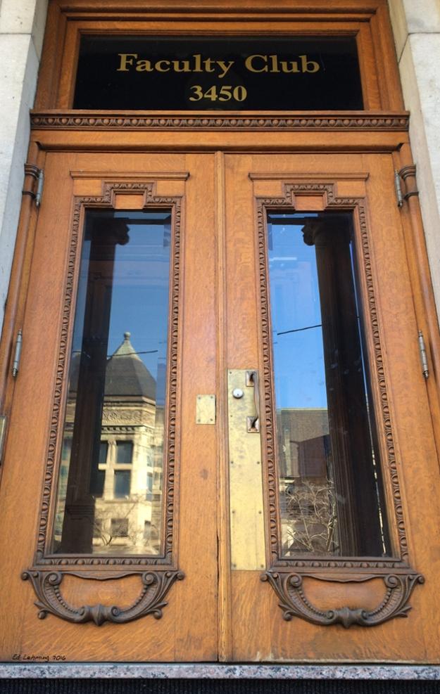 McGill University - Faculty Club Doors