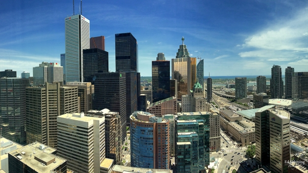 Toronto Skyline from RBC Tower