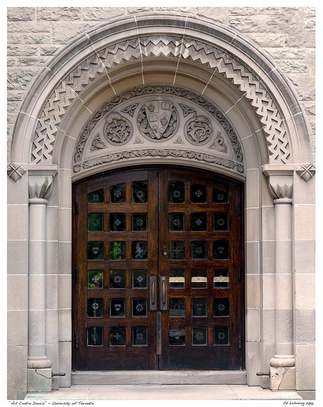 """Art Centre Doors"" - University of Toronto"