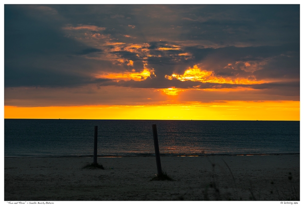 """""""Two and Three"""" - Sauble Beach, Ontario"""