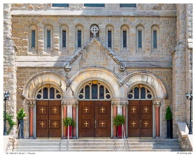 """St. Patrick's Parish"" - Toronto"