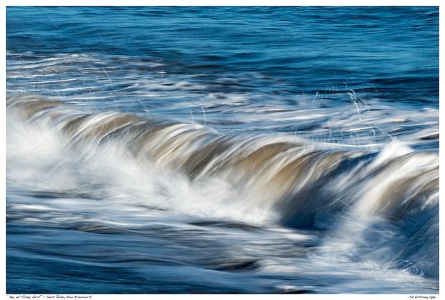 """Bay of Fundy Surf"" - Saint John, New Brunswick"