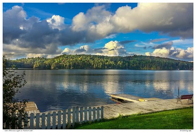 """Late Afternoon Light on Paudash Lake"""