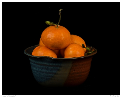 """Bowl of Clementines"""