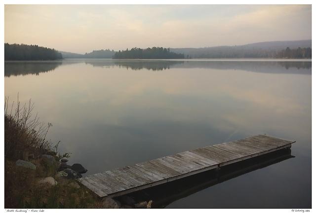 """""""Gentle Awakening"""" - Fraser Lake"""