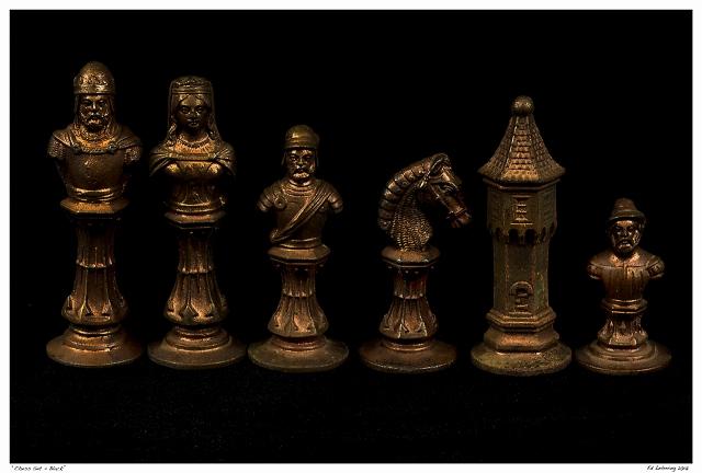 """Chess Set - Black"""