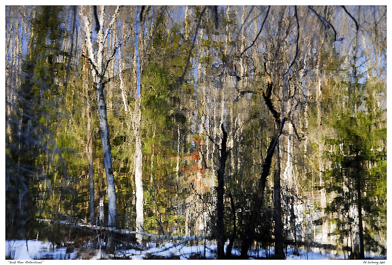"""York River Reflections"""