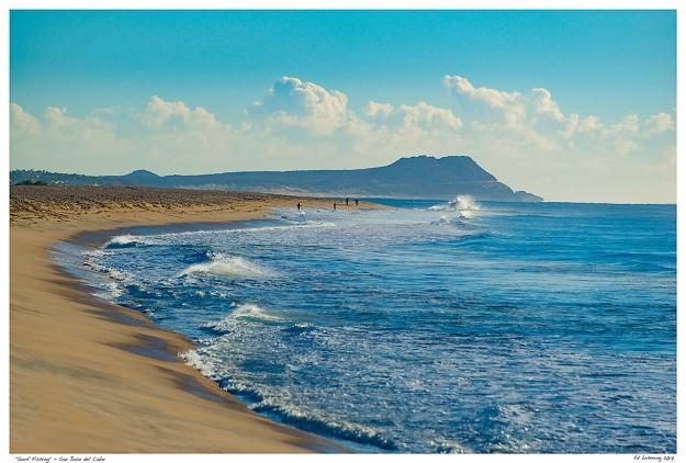 """Surf Fishing"" - San Jose del Cabo"