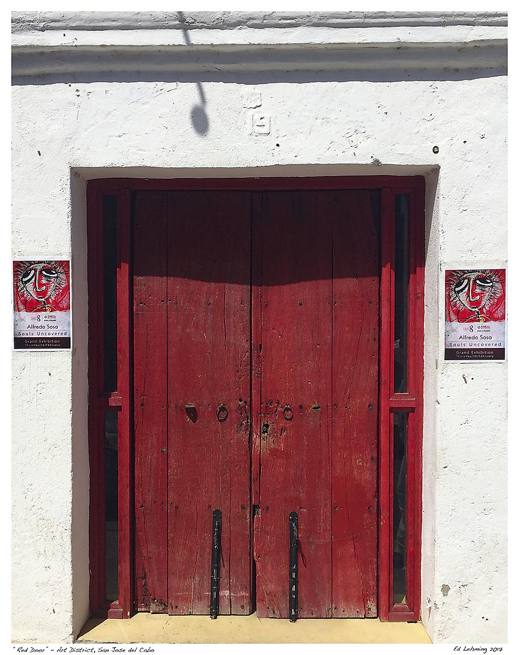 """Red Door"" - Art District, San Jose del Cabo"