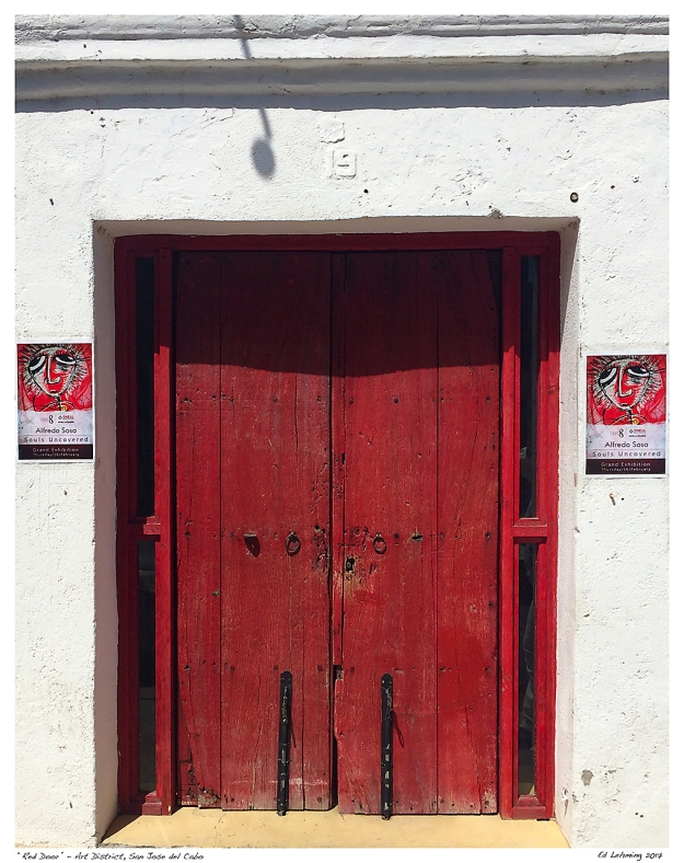 """Red Door"" - Art District, San Jose del Cabo"