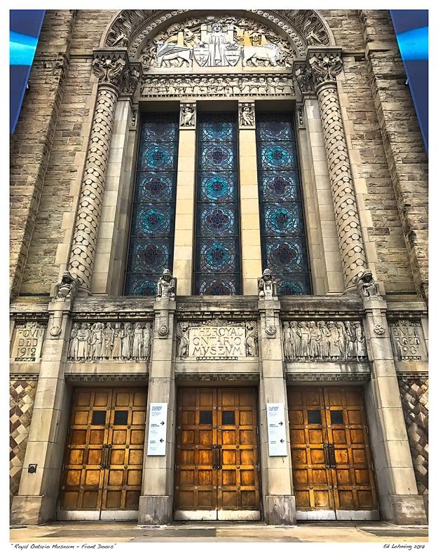 """Royal Ontario Museum - Front Doors"""