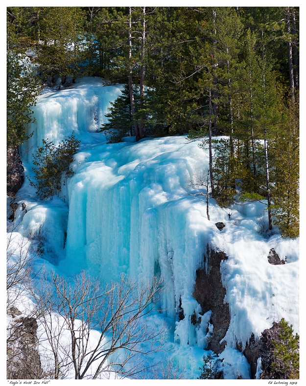 """Eagle's Nest Ice Fall"""