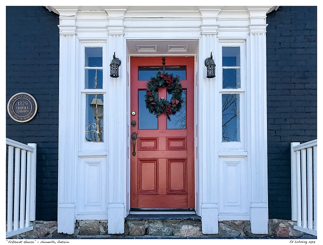 """Eckhardt House"" - Unionville, Ontario"