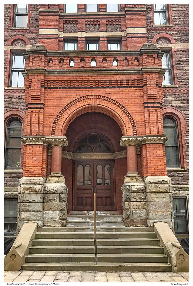 """Inatowycz Hall' - Royal Conservatory of Music"