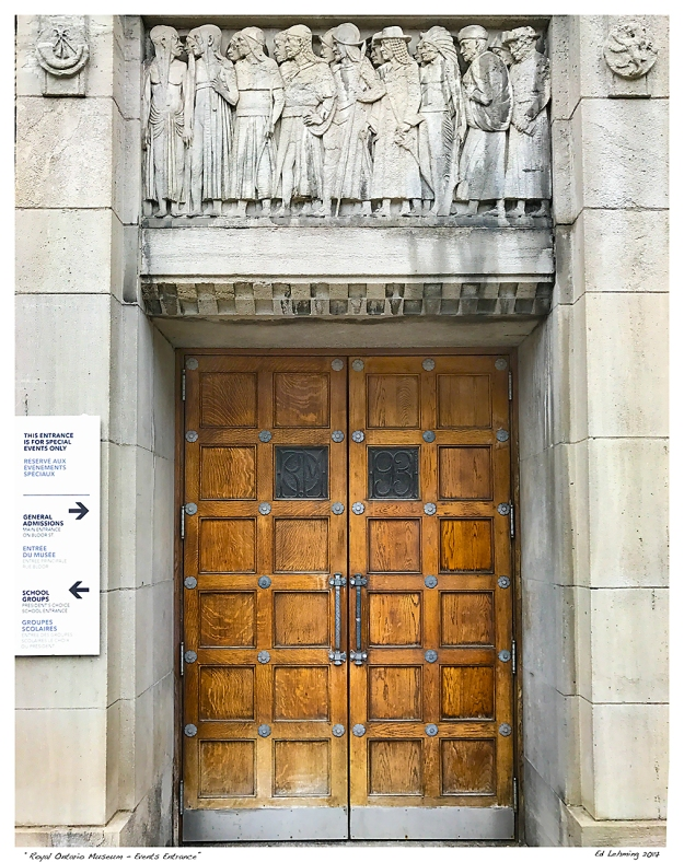 """Royal Ontario Museum - Events Entrance"""