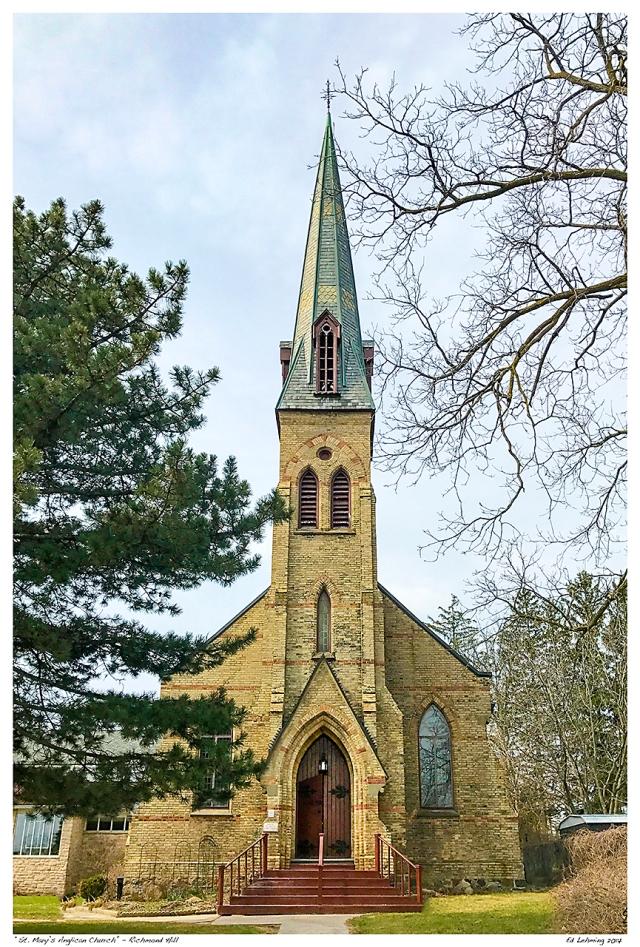 """St. Marys Anglican Church"" - Richmond Hill"