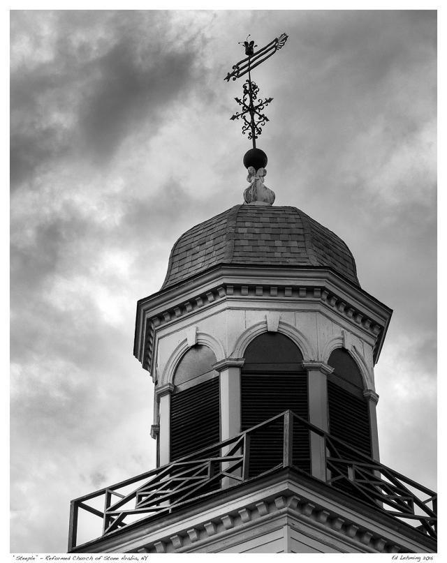 """""""Steeple"""" - Reformed Church of Stone Arabia, NY"""