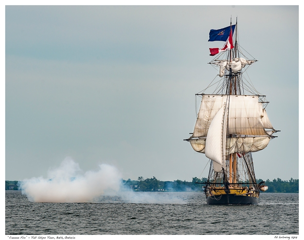 """Cannon Fire"" - Tall Ships Tour, Bath, Ontario"