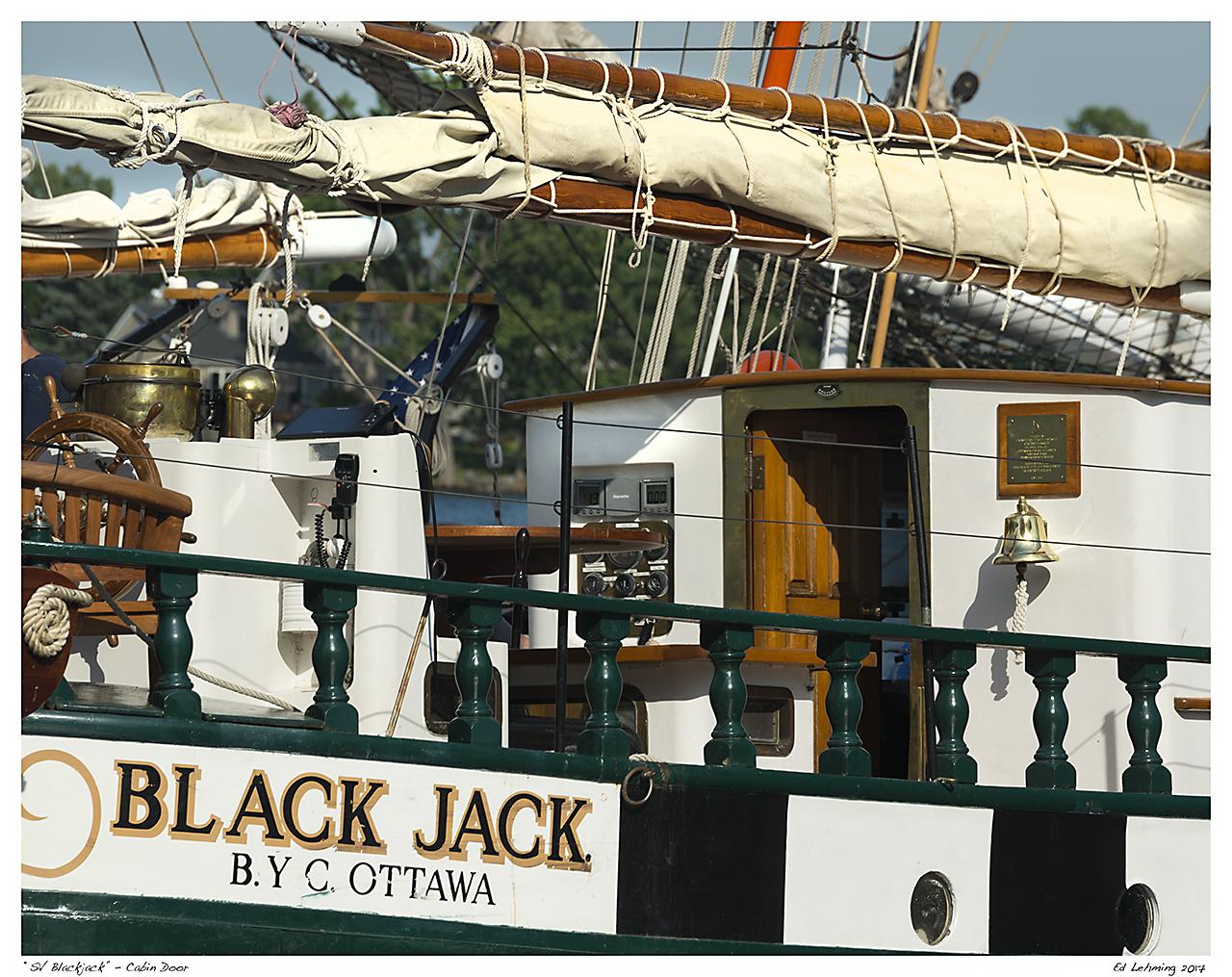 """""""SV Blackjack"""" - Cabin Door"""