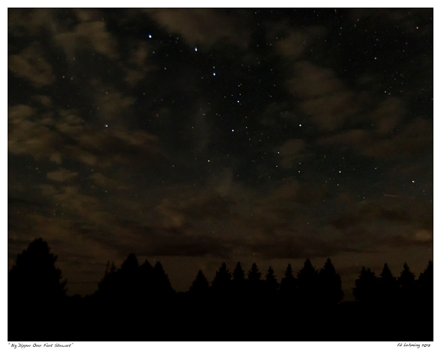 """Big Dipper Over Fort Stewart"""