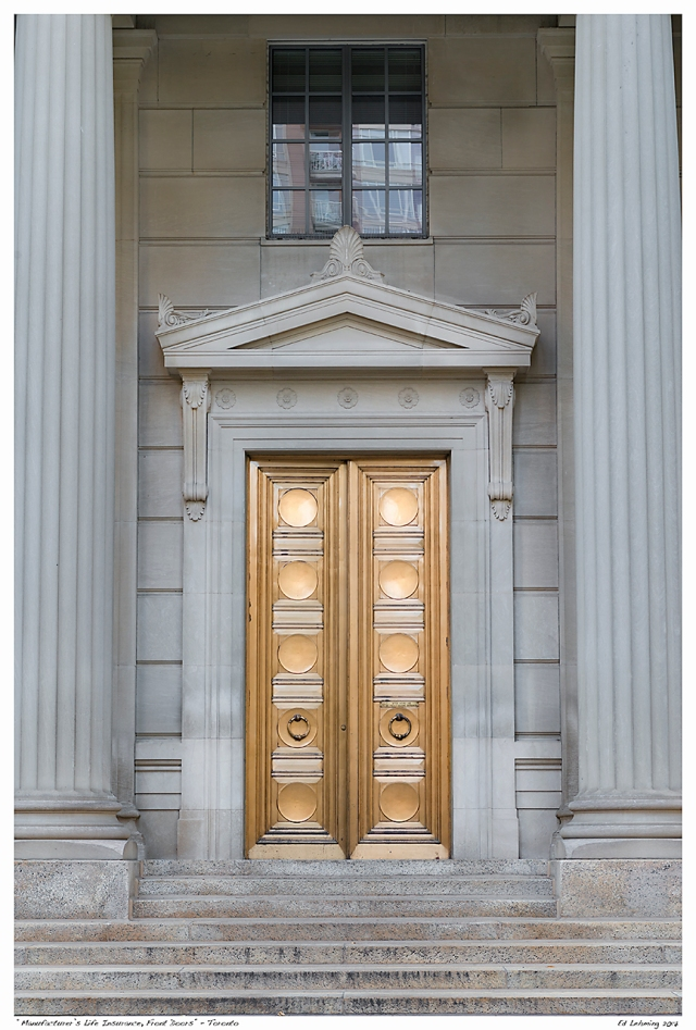 """Manufacturer's Life Insurance, Front Doors"" - Toronto"